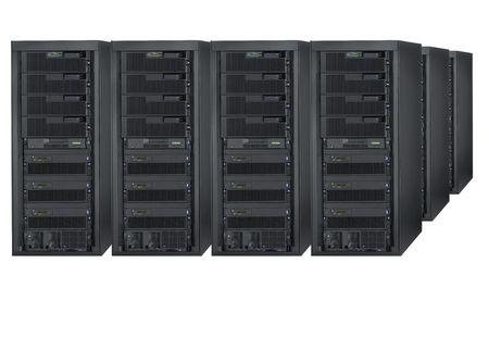 array: Server array Stock Photo