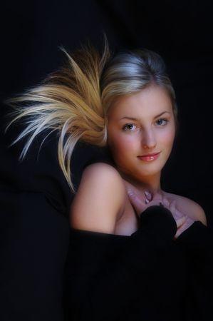 Gorgeous Teen Model Stock Photo
