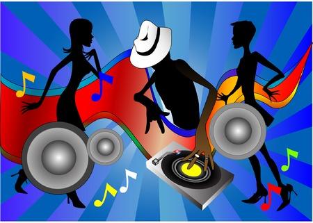 Rhythm & Sound (Vector fully editable and resizable) Stock Vector - 2986668