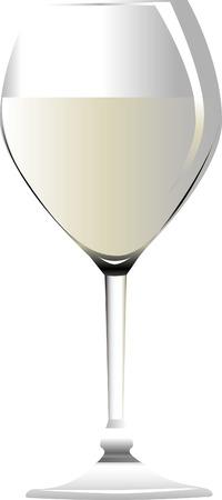 White wine Stock Vector - 2986679