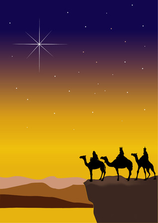 3 Wise Men Stock Vector - 2986828