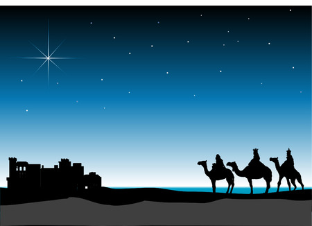 3 Wise Men Stock Vector - 2986795