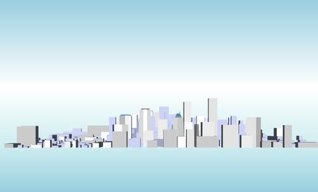 condominiums built: Vector Cityscape