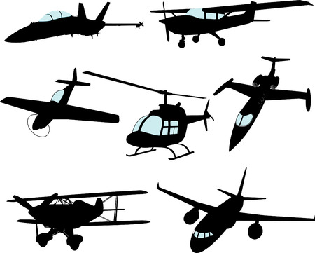 helicopters: Vector Aircraft (Some Highly detailed)