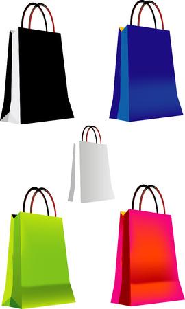 Shopping Bag Vectors Stock Vector - 3173825