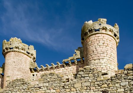 Turegano Castle (Castillo de Turegano) in Segovia province, Castilla Leon, central Spain. Stock Photo - 765487