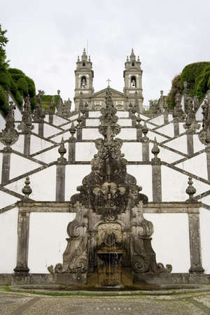monte: Bom Jesus do Monte is a Portuguese sanctuary in the surroundings of the city of Braga, in northern Portugal.