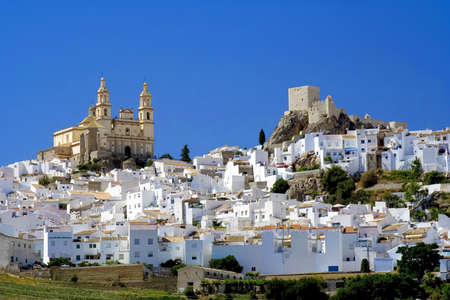 andalucia: Olvera is a white village (pueblo blanco) in Cadiz province, Andalucia, Spain