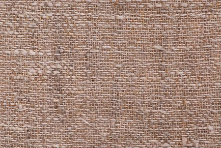 Closeup of a linen fabric texture of natural color Stock Photo - 823010