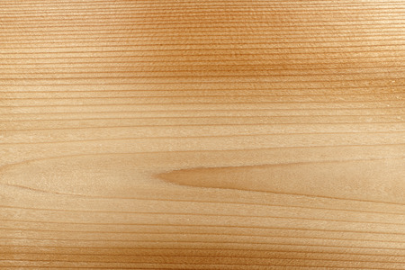 Macro closeup of natural red cedar wood plank woodgrain texture Stock Photo