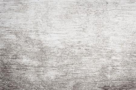 Grauen Holz Hintergrund der verwitterten Distressed rustikalem Holz mit verblichenen weißer Farbe zeigt Woodgrain Textur