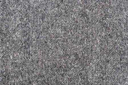 Herringbone Tweed Hintergrund mit Großansicht auf Wolle Stoff Textur Lizenzfreie Bilder