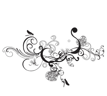 Illustration of a decorative background Vector