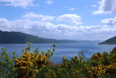Lake Loch Ness, Scotland Stock Photo