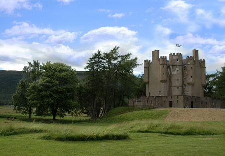Castle in Scotland Stock Photo