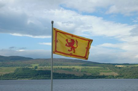 rampant: The Royal Flag of Scotland -  Rampant Lion