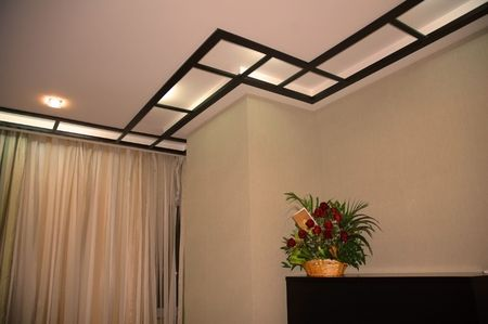 Ceiling in living room Stock Photo - 523332