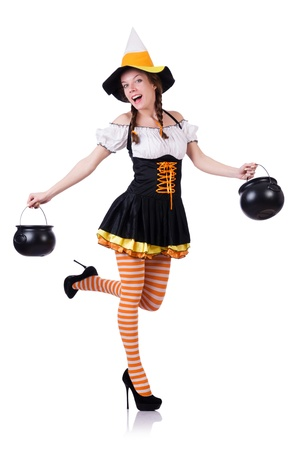 German girl in traditional festival clothing Stock Photo - 21087040
