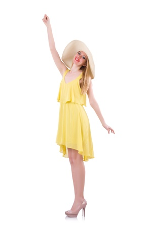 Young woman in summer clothing Stock Photo - 21087041
