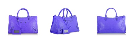 Set of woman bags isolated on the white Stock Photo - 20838808