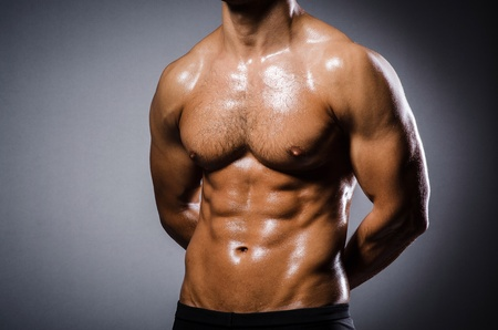 Ripped young man in bodybuilding concept Stock Photo - 22020608