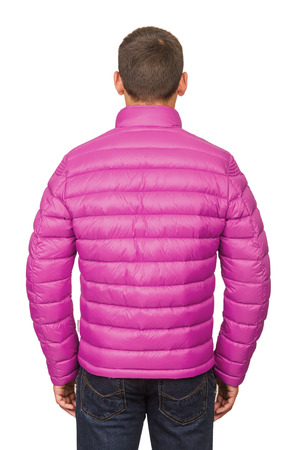 Male coat isolated on the white Stock Photo - 22272833