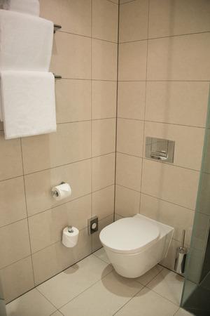Design of bathroom interior photo