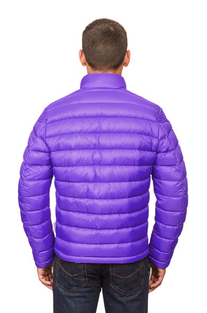 Male coat isolated on the white Stock Photo - 22581139
