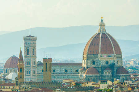 View of florence during the day Stock Photo - 22872806