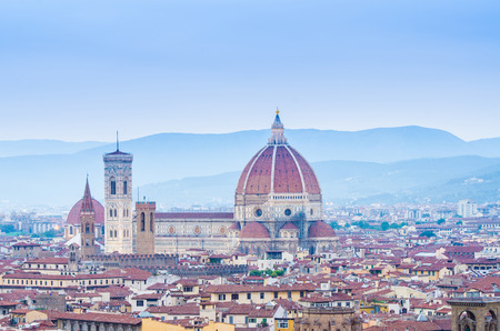 Florence cityscape in dusk hours Stock Photo - 22872826