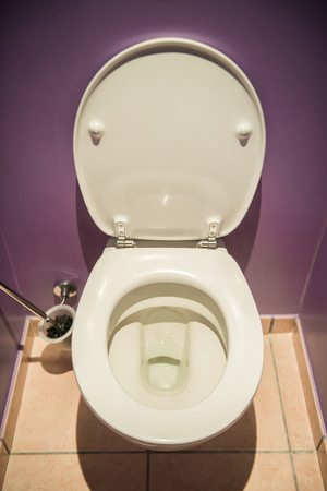 Toilet seat in modern room Stock Photo - 22873065