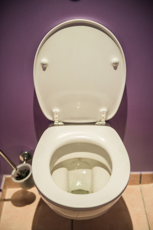 Toilet seat in modern room Stock Photo - 22873066
