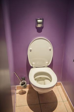 toilet seat: Toilet seat in modern room