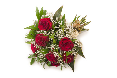 Nice roses in celebration concept Stock Photo - 23538674