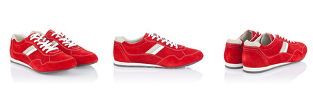 Sport shoes isolated on the white Stock Photo - 24114042
