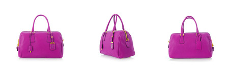 Woman bag isolated on the white Stock Photo - 24157273