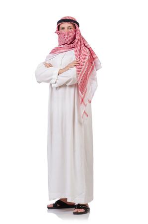 qameez: Bedouin isolated on white