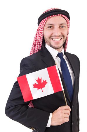 kurta: Arab man in diversity concept