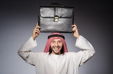 bohra: Arab man in diversity concept