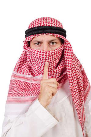 sh: Arab man in diversity concept