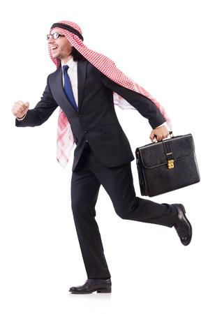 homme arabe: Homme arabe dans le concept de la diversit� Banque d'images