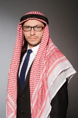 Arab man in diversity concept