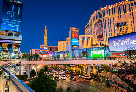 strip club: LAS VEGAS - DECEMBER 21: Strip on December 21, 2013 in Las Vegas. Strip is the main street in Las vegas