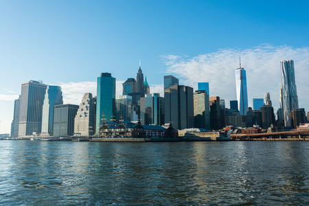 newyork: Panorama of downtown Manhattan
