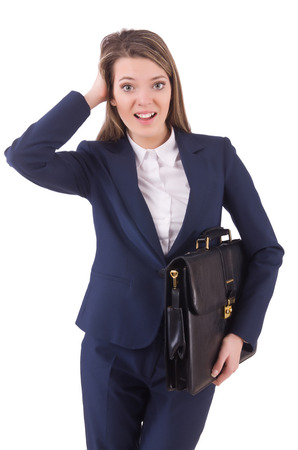 Woman businesswoman in business concept photo