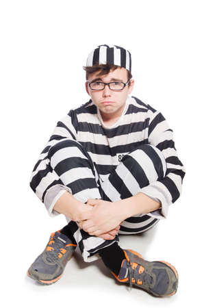 inmate: Funny prison inmate in concept