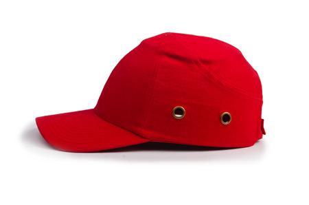 Baseball cap isolated on the white