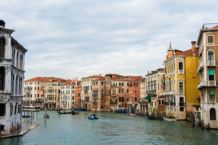 Venice view on a bright summer day