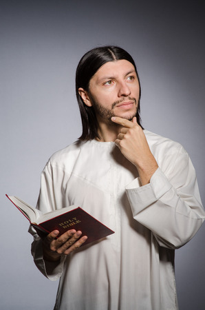 vicar: Priest man in religious concept