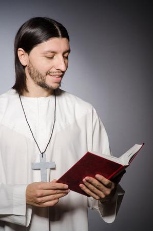 cassock: Priest man in religious concept